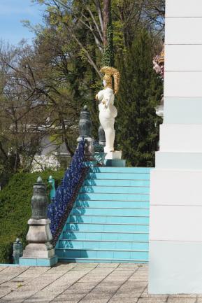 Außenansichten einer Villa in Wien (1)