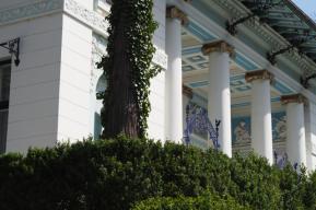 Außenansichten einer Villa in Wien (3)