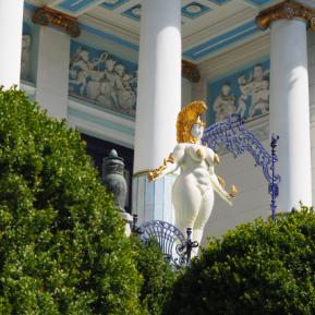 Außenansichten einer Villa in Wien (4)