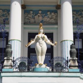 Außenansichten einer Villa in Wien (5)
