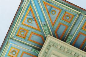 Außenansichten einer Villa in Wien (6)